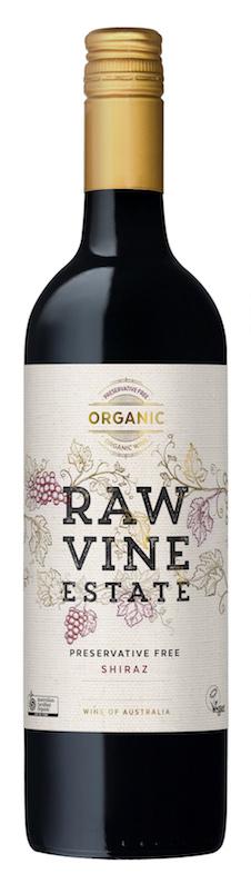 Raw Vine Estate - Preservative Free Shiraz